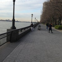 Photo taken at Battery Park City Esplanade by DiShonn S. on 4/15/2013