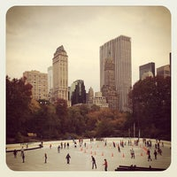 Photo taken at Wollman Rink by Tim Y. on 10/27/2012