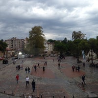 Photo taken at Cumhuriyet Meydanı by Nuh B. on 9/9/2013