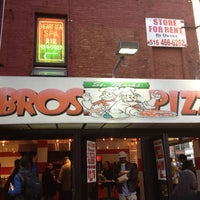 Photo taken at 2 Bros Pizza by Joshua S. on 4/26/2013