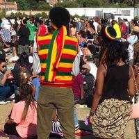 Photo taken at UCLA Intramural Field by CJ H. on 5/27/2014