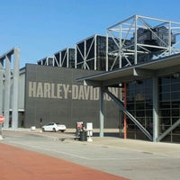 Photo taken at Harley-Davidson Museum by Amy G. on 12/2/2012