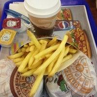 Photo taken at Burger King by Natasha on 1/7/2013