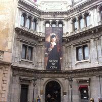 Photo taken at Museu de Cera de Barcelona by Claudio H. on 3/23/2013