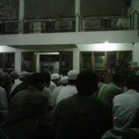 Photo taken at Masjid Abu Dzar Al Ghifari by Andy K. on 1/9/2013