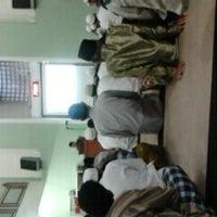 Photo taken at Masjid Abu Dzar Al Ghifari by Andy K. on 8/23/2013