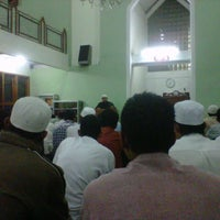 Photo taken at Masjid Abu Dzar Al Ghifari by Andy K. on 1/7/2013