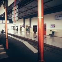 Photo taken at Stasiun Mojokerto by penjul a. on 9/29/2012
