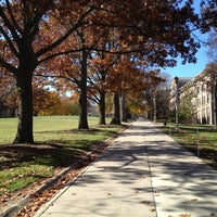 Photo taken at Bascom Hill by Camille L. on 10/21/2012