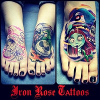 Photo taken at Iron Rose Tattoos by Iron Rose Tattoos on 6/24/2013