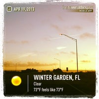 Photo taken at Florida State Road 429 by Angel S. on 4/19/2013