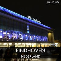 Photo taken at Station Eindhoven by Wesley G. on 1/18/2013