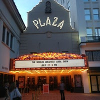 Photo taken at Plaza Theatre by Jose L. on 7/28/2013
