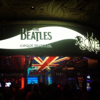 Photo taken at The Beatles LOVE (Cirque Du Soleil) by Carolina C. on 4/20/2013