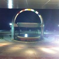Photo taken at Anfiteatro da Ponta Negra by Malú S. on 11/22/2012