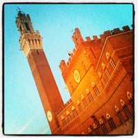 Photo taken at Piazza del Campo by Stefano M. on 7/1/2013