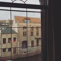 Photo taken at Ghent River Hotel by Natalie V. on 12/3/2015