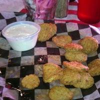 Photo taken at Huey's Restaurant by Bill G. on 11/3/2012