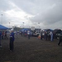 Photo taken at Lot 5 Ralph Wilson Stadium by Rocio M. on 9/30/2012