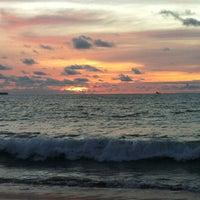 Photo taken at Jimbaran Bay Seafood by Billy G. on 12/25/2012