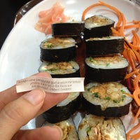 Photo taken at Origami Sushi by Maria M. on 11/18/2012