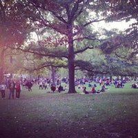Photo taken at Food Truck Friday @ Tower Grove Park by Rachel S. on 10/12/2012