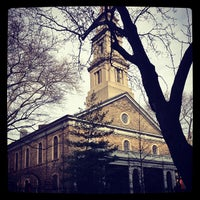 Photo taken at St. Mark's Church in the Bowery by Aileen A. on 1/19/2013