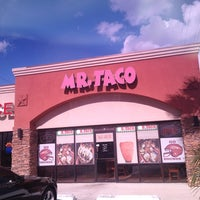 Photo taken at Mr Taco by Sergio C. on 2/2/2013