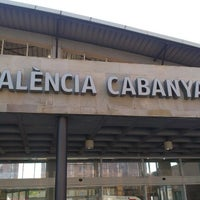 Photo taken at Estació de Tren - València-Cabanyal by Amparo P. on 5/3/2013