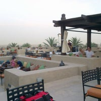Photo taken at Rooftop Bar Bab Al Shams by Lessa A. on 4/15/2013