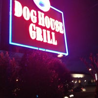 Photo taken at Dog House Grill by Justin S. on 1/27/2013