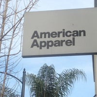 Photo taken at American Apparel by Chad G. on 3/21/2013