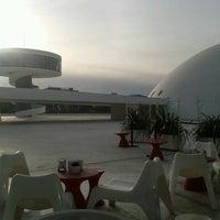 Photo taken at Oscar Niemeyer International Cultural Centre by Javier E. on 11/22/2012
