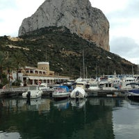 Photo taken at Puerto Ifach by Domingo R. on 2/23/2013