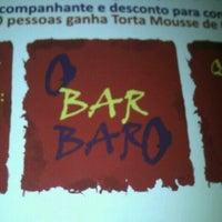 Photo taken at O Bar BarO by Rangel M. on 10/7/2012