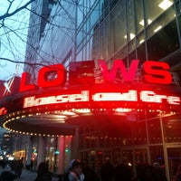 Photo taken at AMC Loews 34th Street 14 by Andrew S. on 2/12/2013