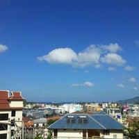 Photo taken at Patong Cottage Resort Phuket by Irek G. on 2/12/2013