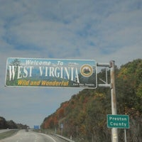Photo taken at I-68 WB West Virginia Welcome Center by MADDOGG™ on 10/9/2012