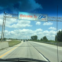 Photo taken at Indiana / Ohio State Line by Pat M. on 7/1/2016