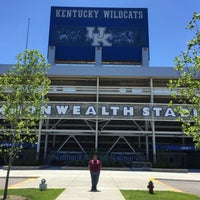 Photo taken at Commonwealth Stadium by Pat M. on 6/8/2016