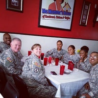 Photo taken at Ma Momma's House of Cornbread, Chicken & Waffles by Lance C. on 7/25/2014