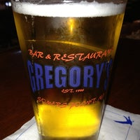 Photo taken at Gregory's Bar and Restaurant by Ray B. on 3/14/2013