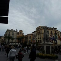 Photo taken at Piazza Tasso by Livia M. on 4/1/2013