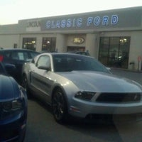 Photo taken at Classic Ford Lincoln of Columbia by Michelle B. on 10/13/2012