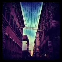 Photo taken at Via del Corso by Armenia B. on 12/23/2012
