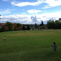 Photo taken at Wallingford Playfield by Steph T. on 6/25/2013