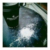 Photo taken at Zoka Coffee Roaster & Tea Company by Ben K. on 9/14/2012