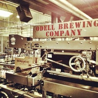 Photo taken at Odell Brewing Company by Zeke S. on 11/20/2012