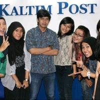 Photo taken at Kaltim Post Samarinda by Areena H. on 9/14/2012