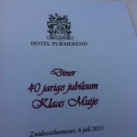 Photo taken at Van der Valk Hotel Purmerend by Hidde M. on 7/6/2013
